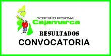 RESULTADOS CONVOCATORIA CAS 2013